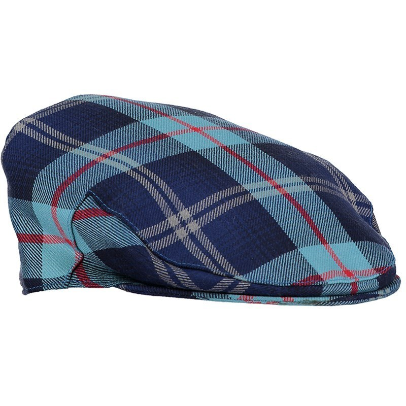 Tartan Flat Cap in Help for Heroes