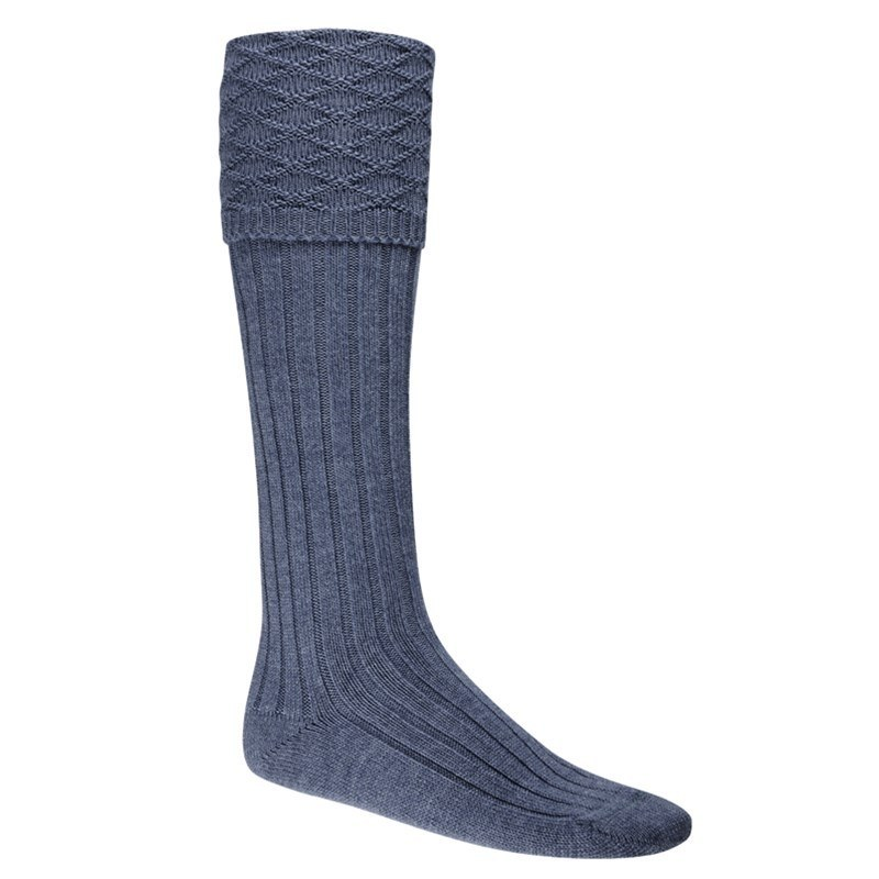 Calcetines Escoces in Lovat Blue