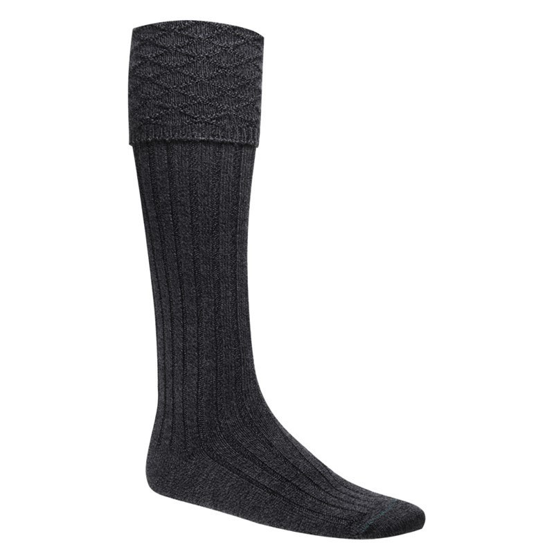 Calcetines Escoces in Charcoal