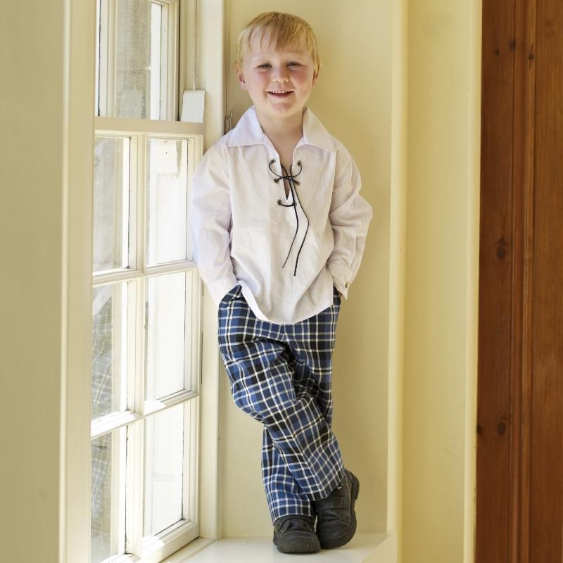 Boy's Clark Ancient Tartan Trousers