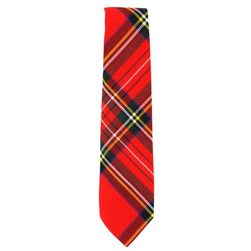 Krawatte für Jungen aus Polyviskose in Stewart Royal PolyViscose BA005T
