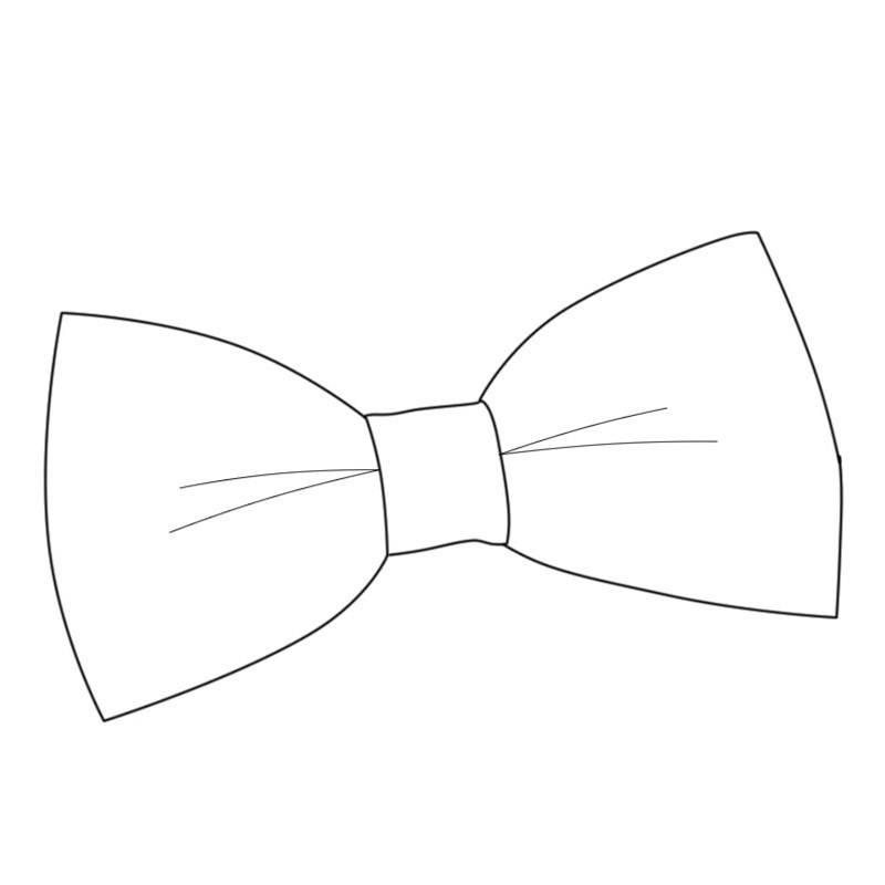 Boys Wool Plaid Bow Tie