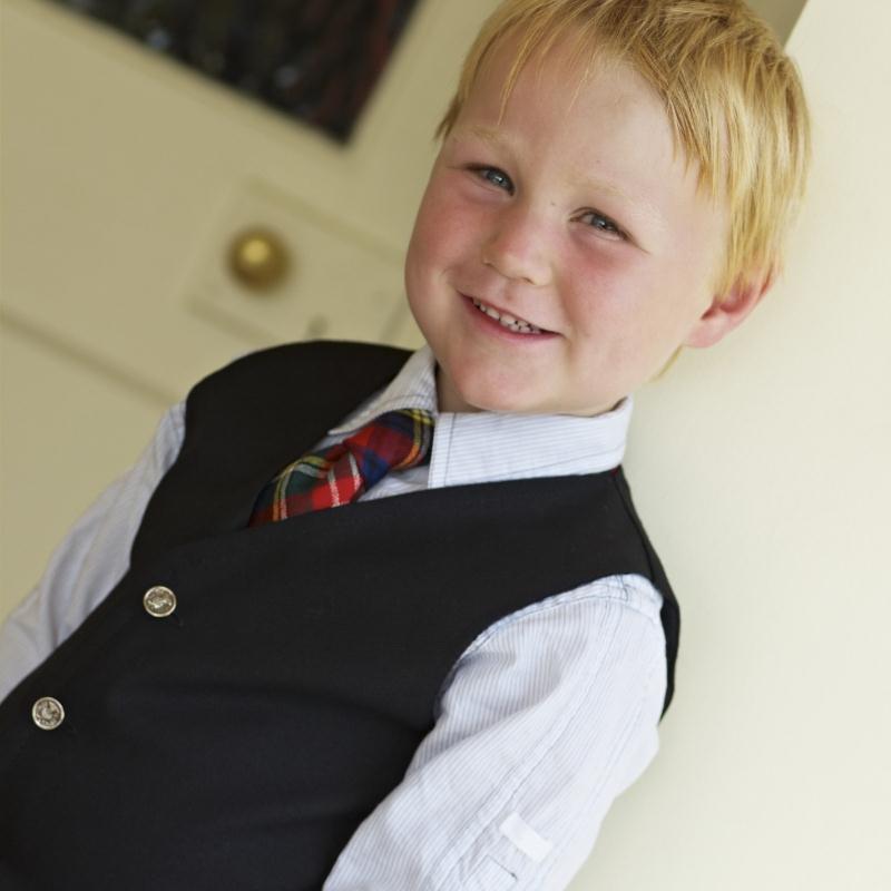 Boy's Plain Colour Waistcoat