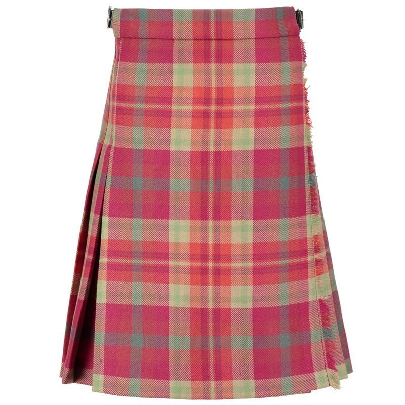 Highland Rose Girl's Wool Tartan Kilt