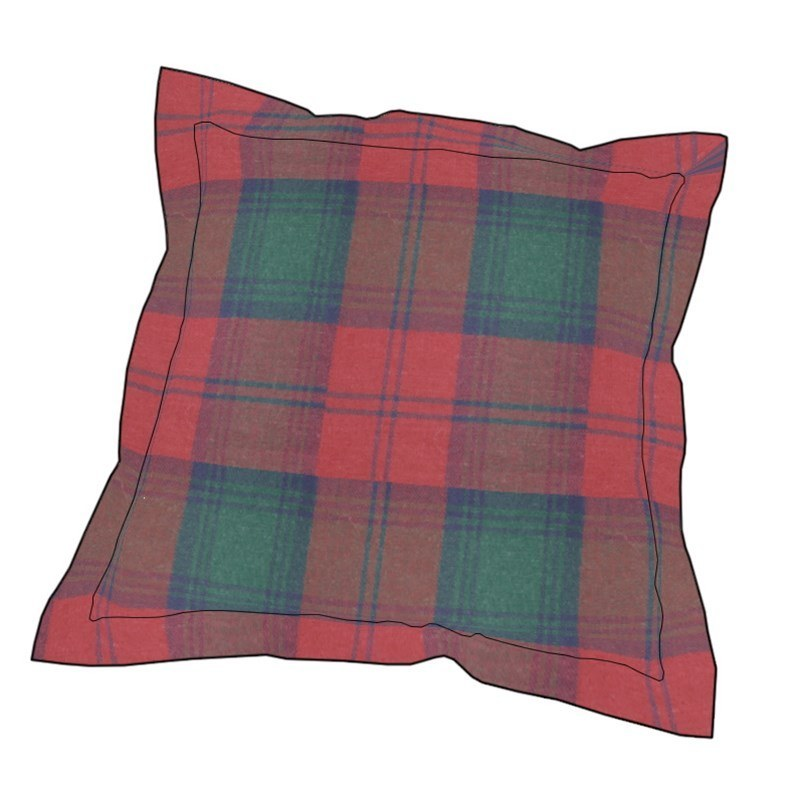 Essential Plaid Pillow Cover in Lindsay Modern
