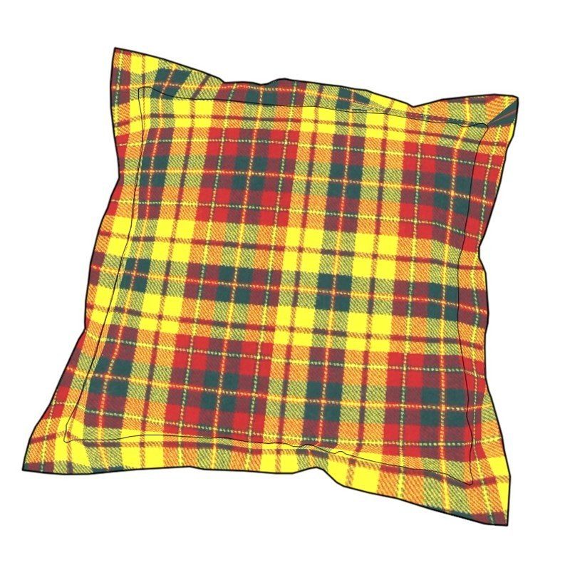 Essential Plaid Pillow Cover in Strathearn
