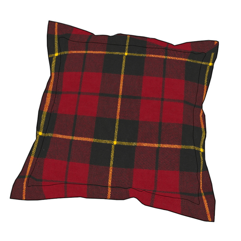 Essential Plaid Pillow Cover in Wallace Modern