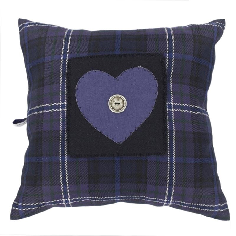 I Love Plaid Pillow Cover in Scotland Forever