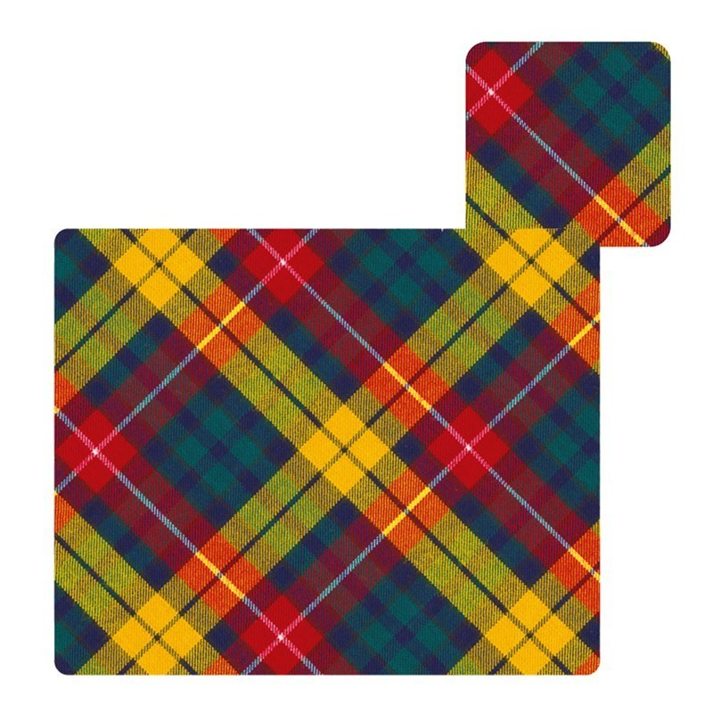 Tartan Tablemats & Coasters Set in Buchanan Modern