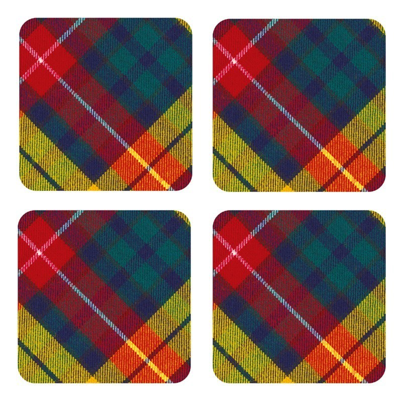 Plaid Coaster