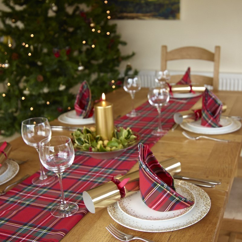 Tartan Table Runners