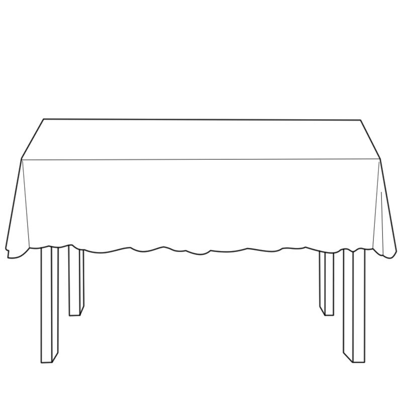 Rectangular Tartan Tablecloth