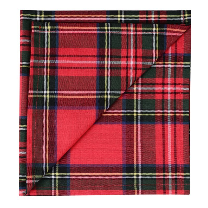 Tartan Servietten  in Stewart Royal