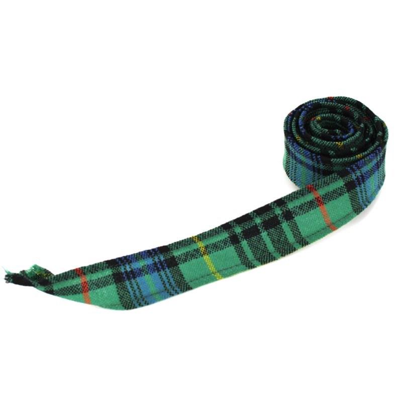 Green tartan ribbon