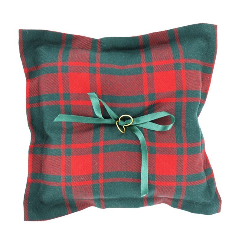Plaid Ring Pillow in Middleton Modern