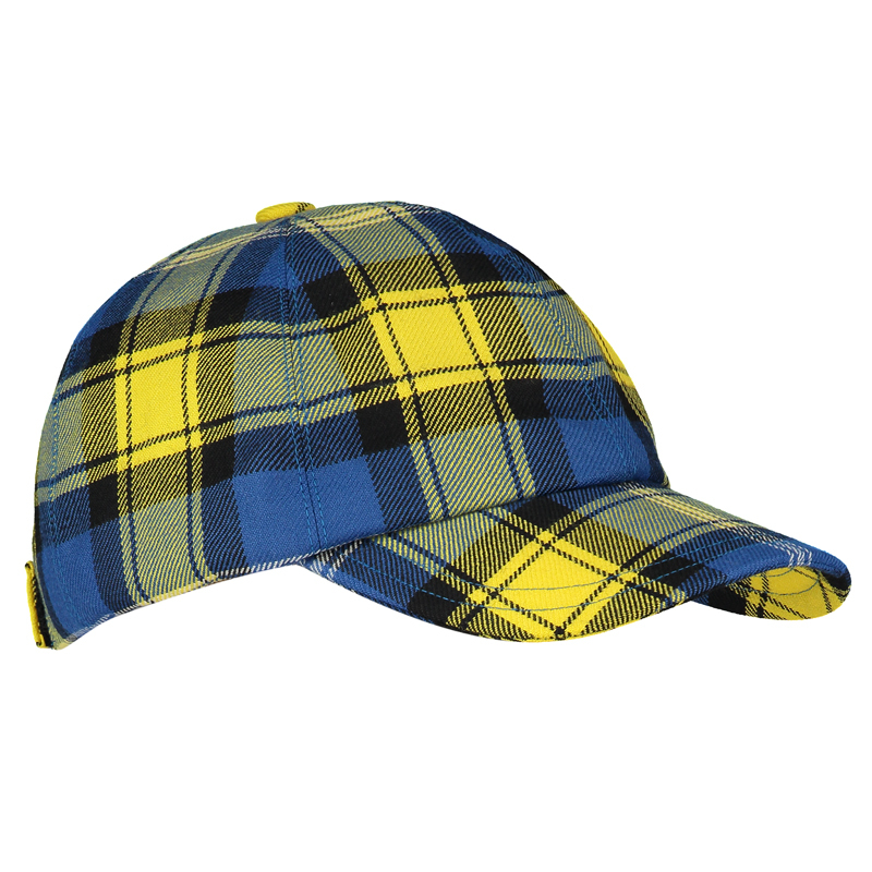Doddie'5 Plaid Golf Cap
