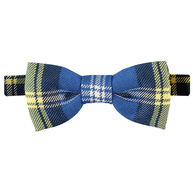 Doddie'5 Plaid Bow Tie