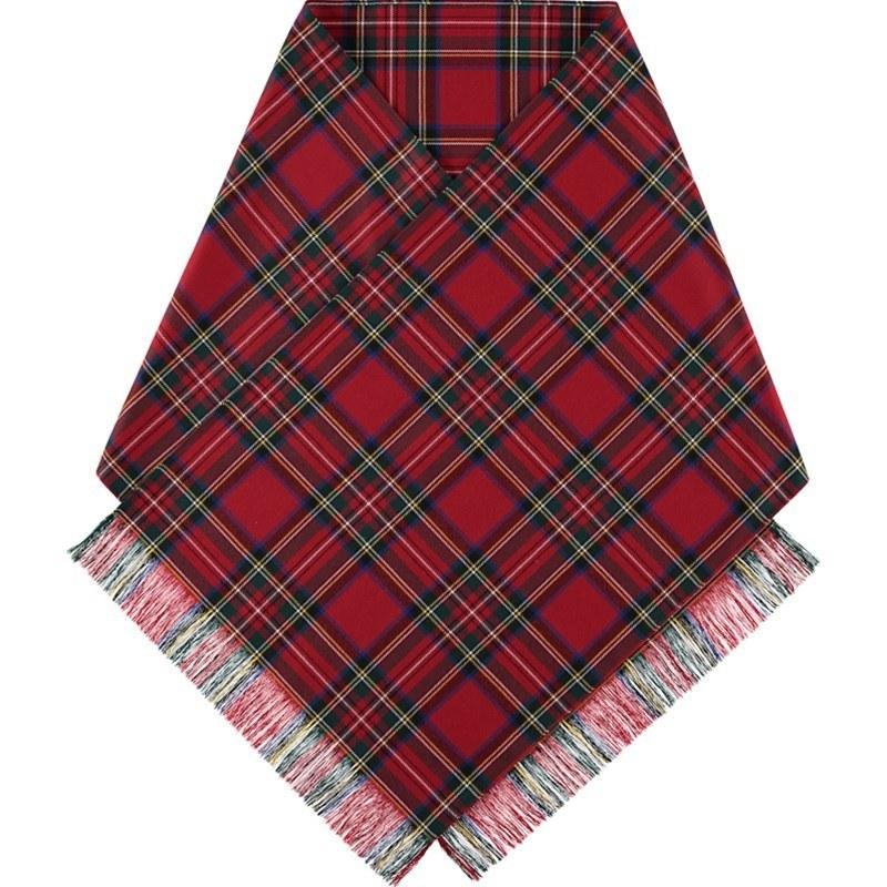 Stewart Royal Wool tartan stole