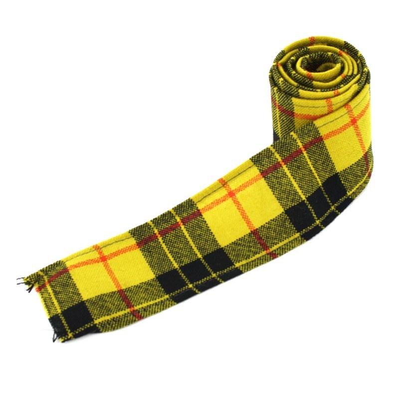 Macleod Yellow Tartan Ribbon