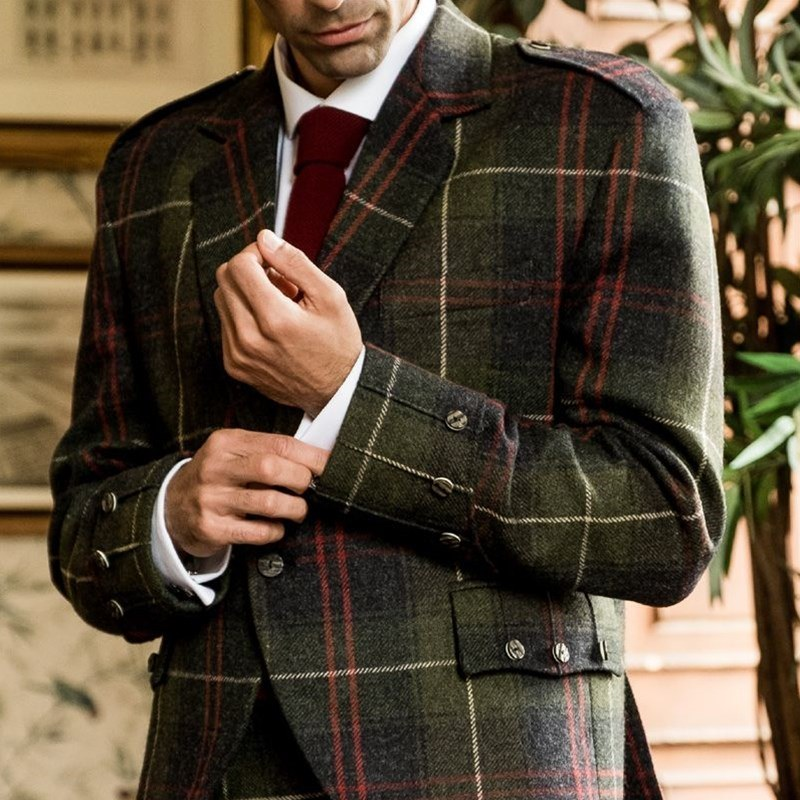 Plaid Argyll Jacket Made To Order