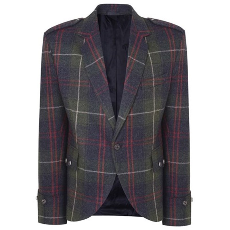 Plaid Argyll Jacket in Patriot Talla
