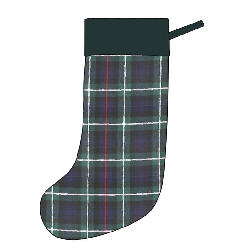 Tartan Christmas Stocking in MacKenzie Modern