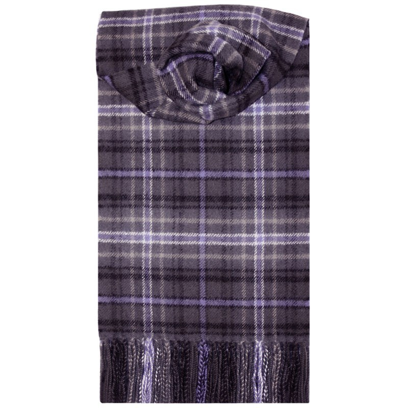 Brushed Wool Tartan Scarf in Scotland Forever Antique