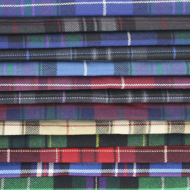 Pride of Scotland Wool Tartan Fabric