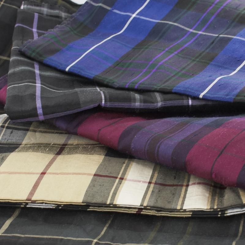 Pride of Scotland Silk Tartan Fabric