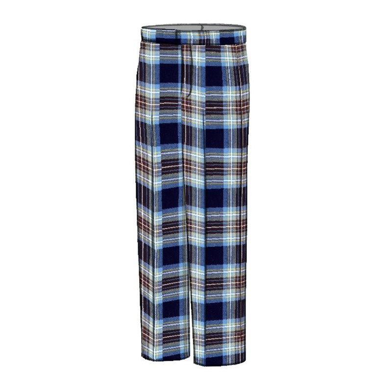 Plaid Golf Pants in Holyrood PolyViscose BA008T