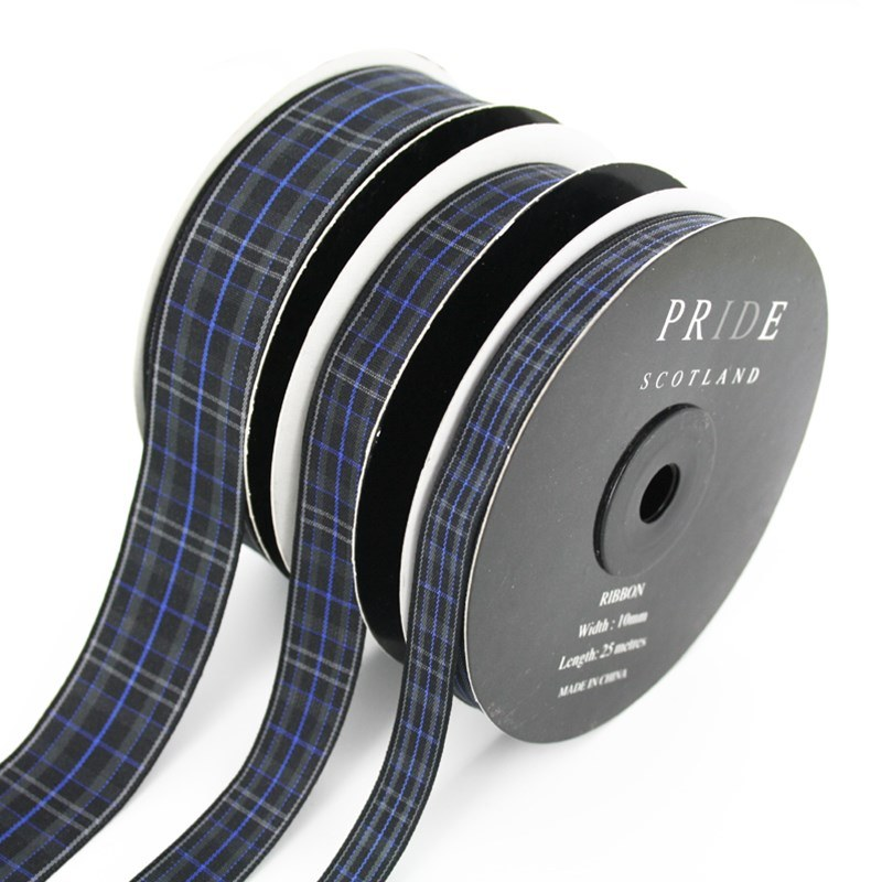 Pride of Scotland Plaid Ribbon