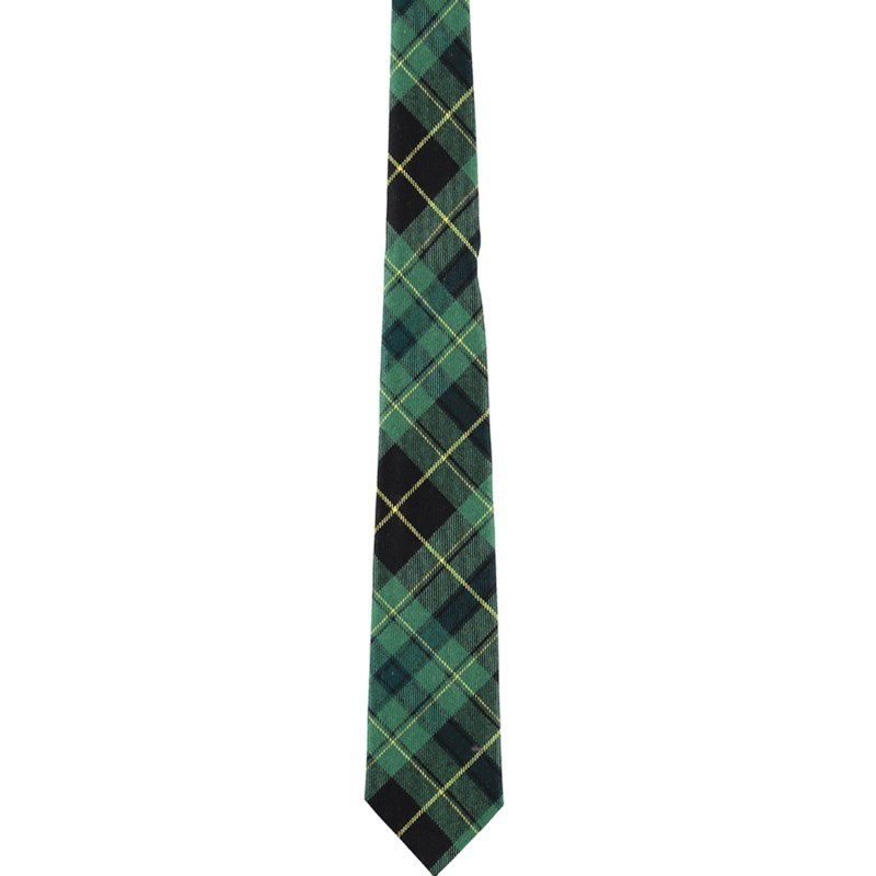 Pride of Scotland Wool Tartan Tie in Pride of Ireland