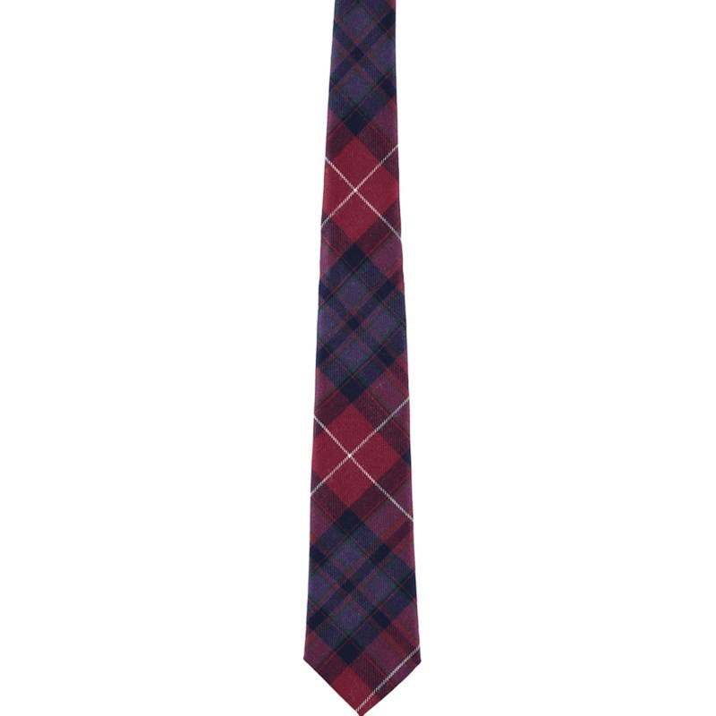 Pride of Scotland Wool Plaid Tie in Pride of Scotland National