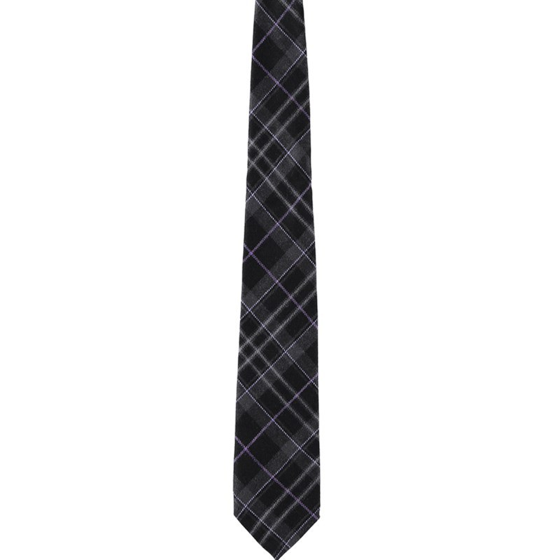 Pride of Scotland Wool Plaid Tie in Pride of Scotland Platinum