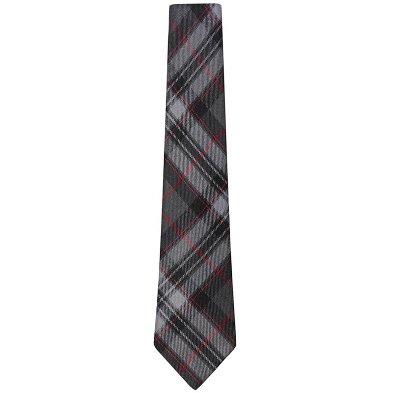 Pride of Scotland Wool Tartan Tie in Pride of Scotland Silver