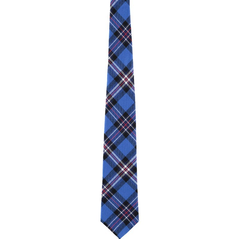 Pride of Scotland Wool Tartan Tie in Rangers Football Club
