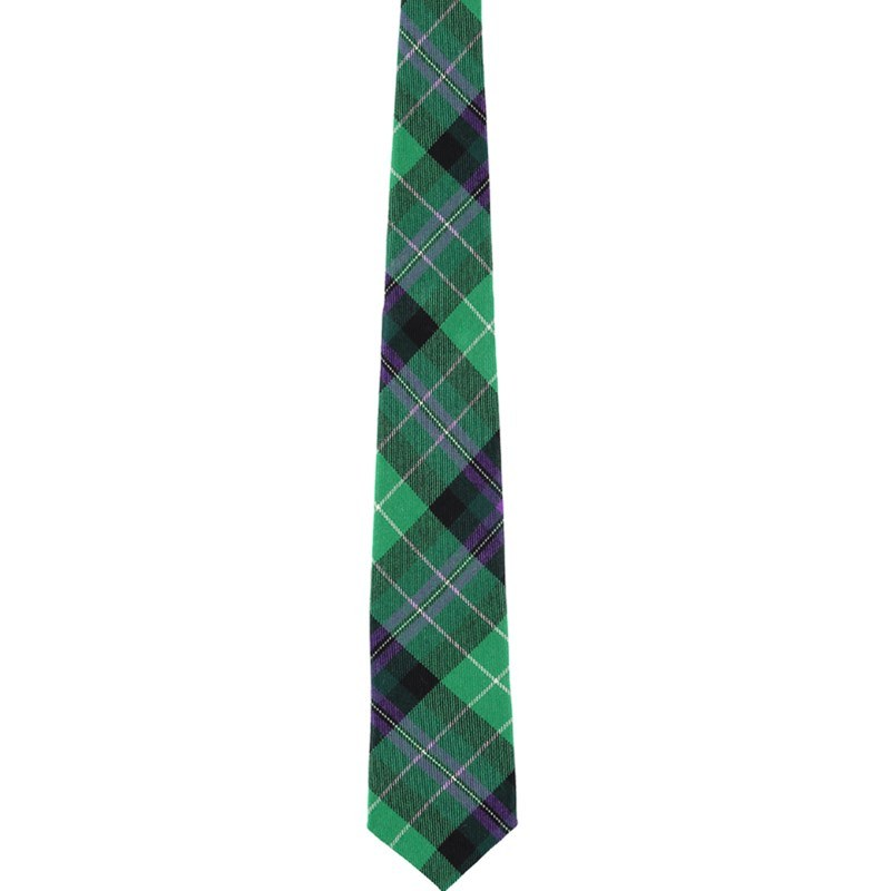 Pride of Scotland Wool Plaid Tie in Hibernian Football Club
