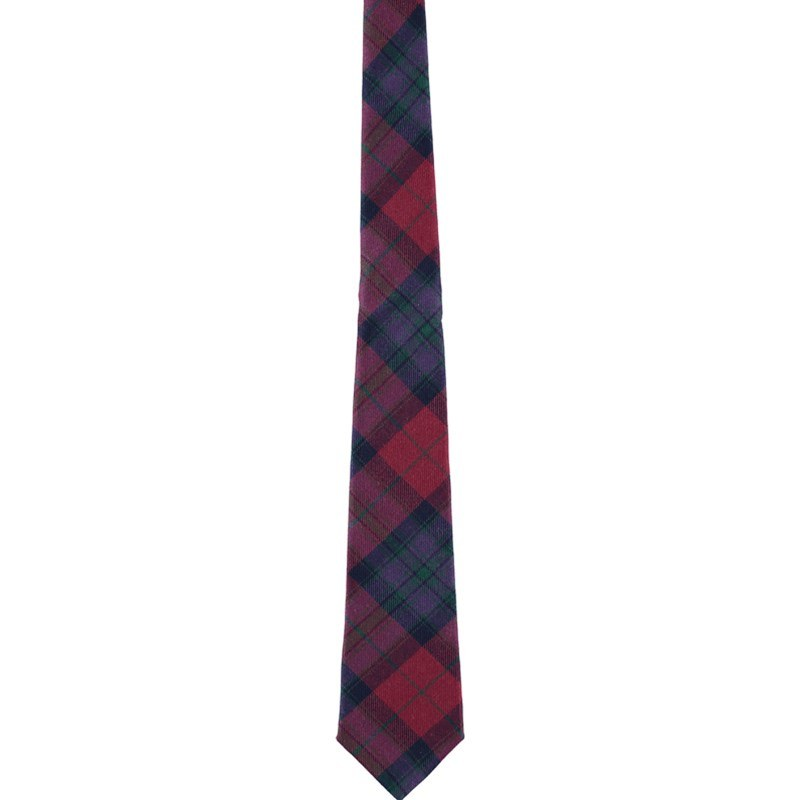 Pride of Scotland Wool Plaid Tie in Pride of Scotland Autumn