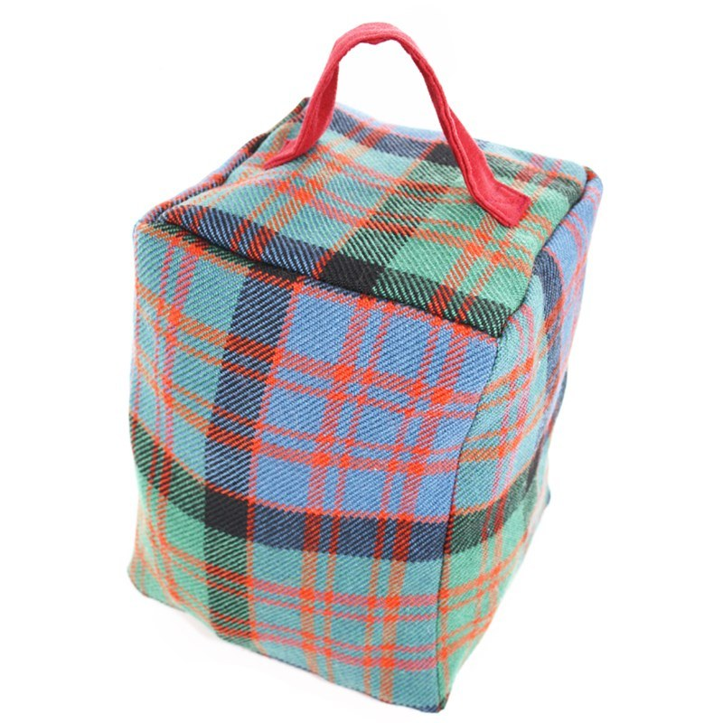 Tartan Doorstop in MacDonald Clan Ancient