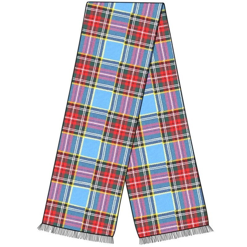 Wool Tartan Sash in MacBeth Modern