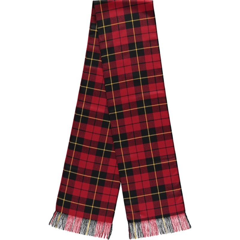 Wool Tartan Sash in Wallace Modern