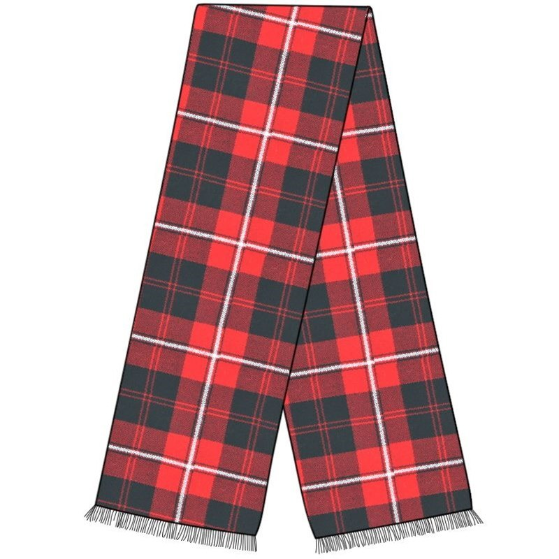 Wool Plaid Sash in Cunningham Modern