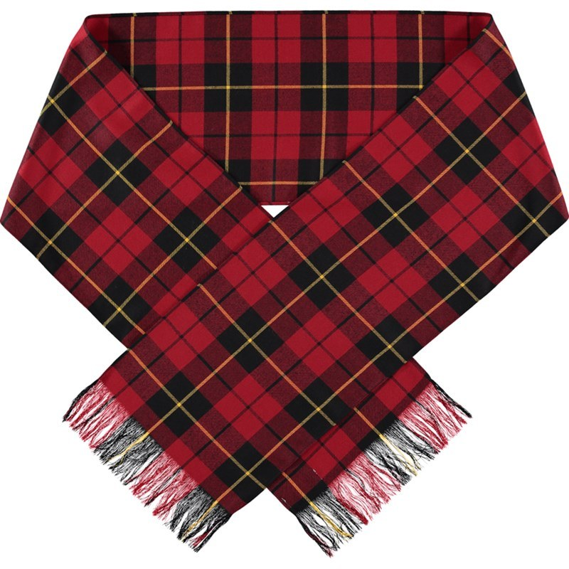 Wool Plaid Sash