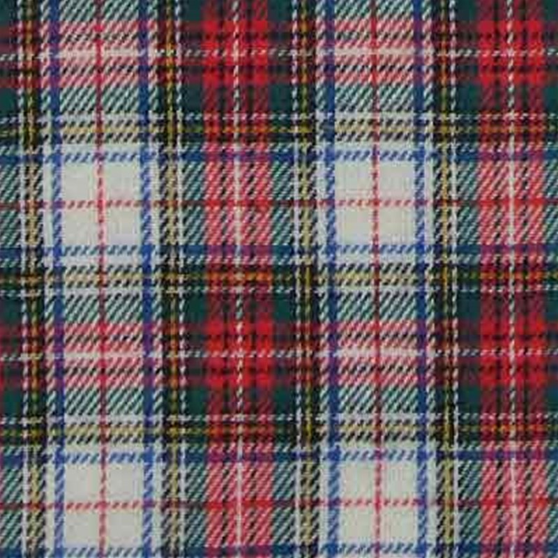 Brushed cotton tartan swatch Stewart Dress