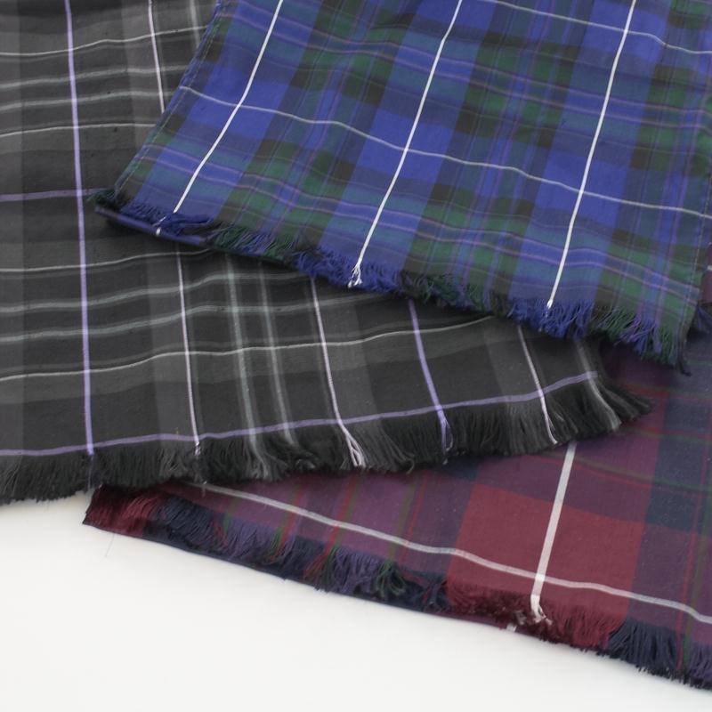 Pride of Scotland Silk Tartan Swatches Made To Order