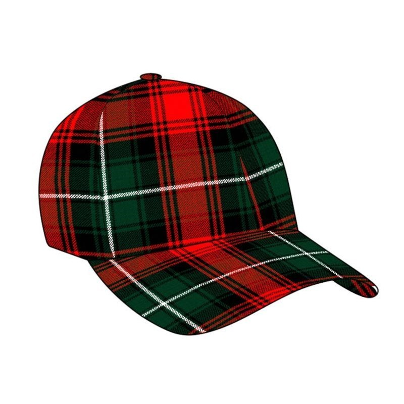 Gorra de Golf Tartán in Duns Pipe Band
