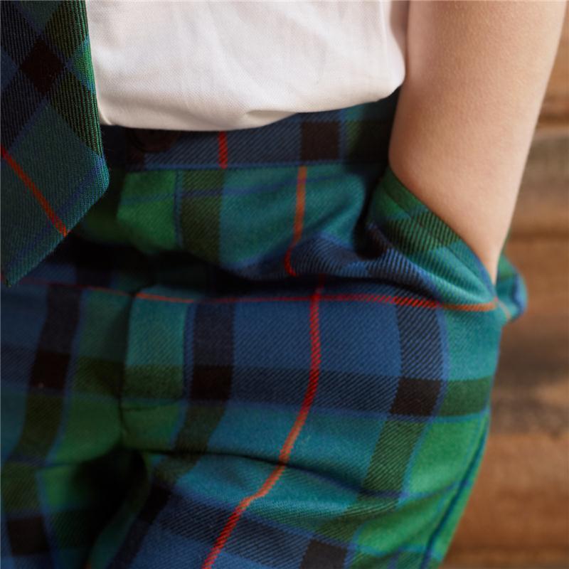 Flower of Scotland Boy's Tartan Shorts_1