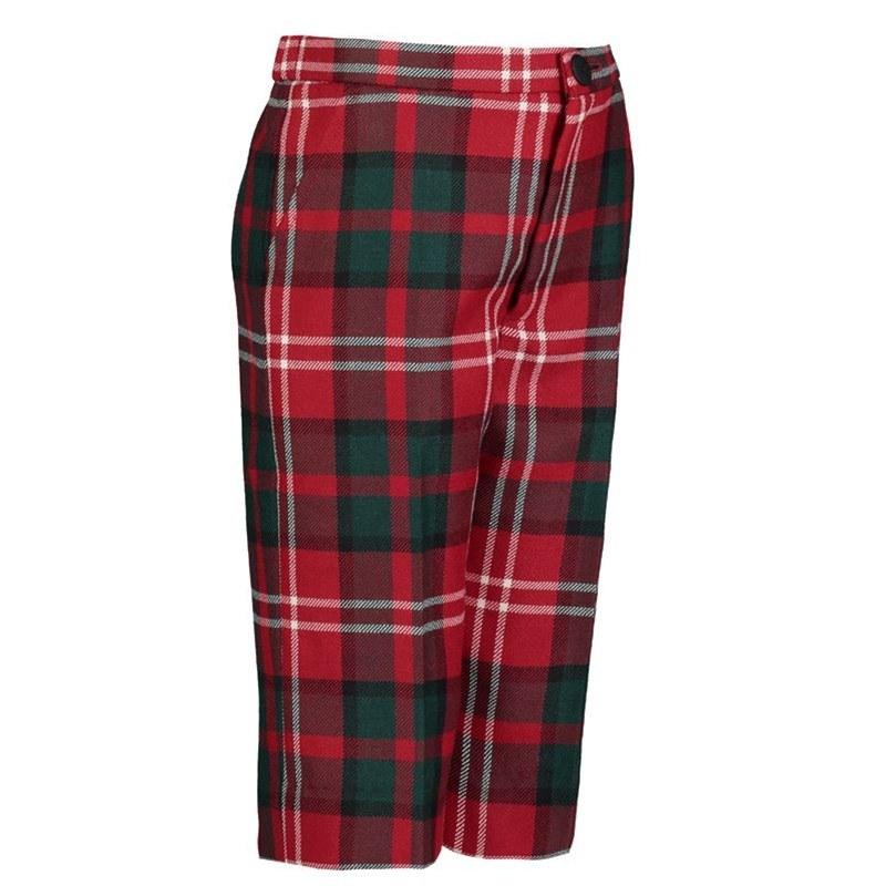 Boy's shorts in 500 tartans