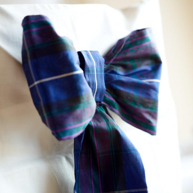 Pride of Scotland Tartan Schleife aus Seide