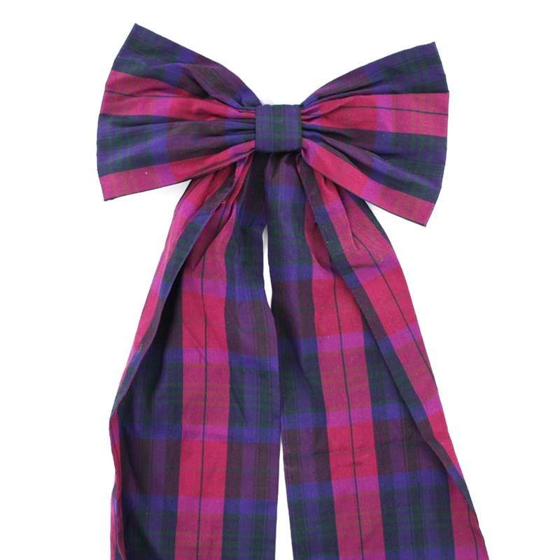Pride of Scotland Silk Tartan Bow in Pride Of Scotland Autumn